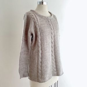 Sweaters - 👋🏻LAST CHANCE👋🏻 Simons Cable Knit Sweater